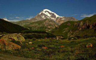 Где находится гора Казбек