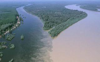 Река Аграви в Грузии