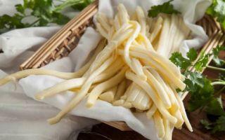 Сыр сулугуни: калорийность