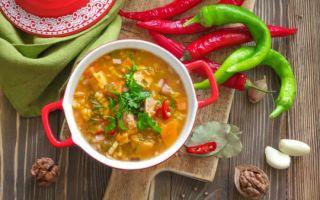 Суп харчо: пошаговый рецепт приготовления