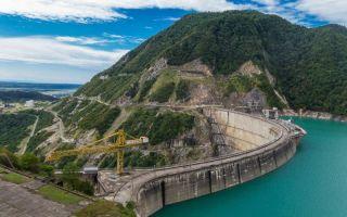 Ингури ГЭС: Грузия