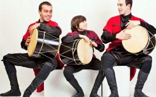 Грузинский музыкальный инструмент
