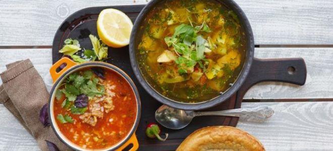 Супы грузинской кухни