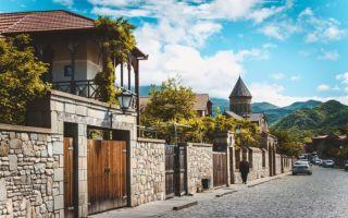 Расстояние Мцхета — Тбилиси