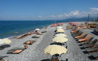 Пляжи Грузии