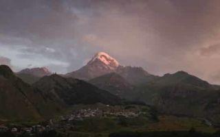 Восхождение на гору Казбек