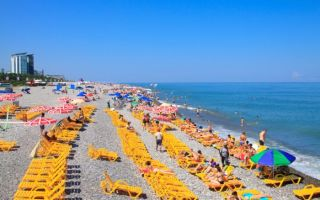 Батуми: пляжи