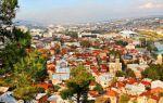 Средняя температура в Тбилиси по месяцам