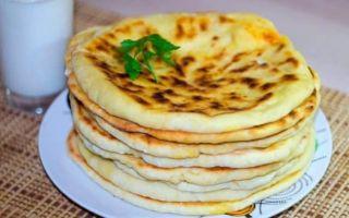 Хачапури с сыром и творогом