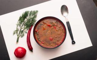 Классический рецепт солянки по-грузински