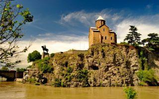 Успенская церковь Метехи в Тбилиси