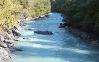 Реки Грузии: список