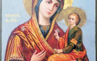 Икона грузинской Божьей матери: чем помогает