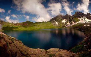 Горные озера Грузии