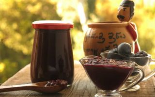 Соус ткемали из слив: рецепт на зиму