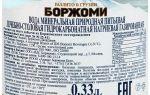 Химический состав воды Боржоми