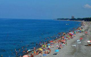 Грузия: отдых на море Кобулети