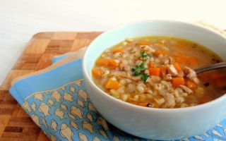 Суп харчо: рецепт приготовления с перловкой