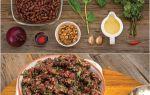 Лобио из красной фасоли: классический рецепт