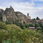 сады в крепости