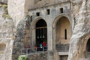 вход в Монастырь Вардзиа