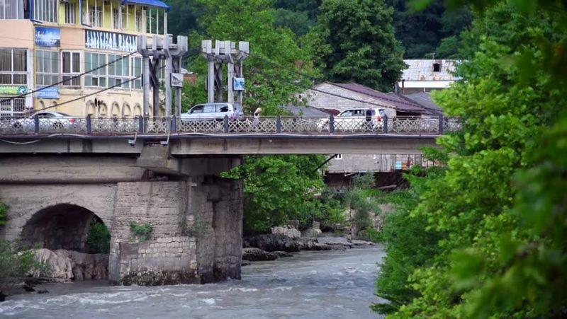 Мосты через Риони