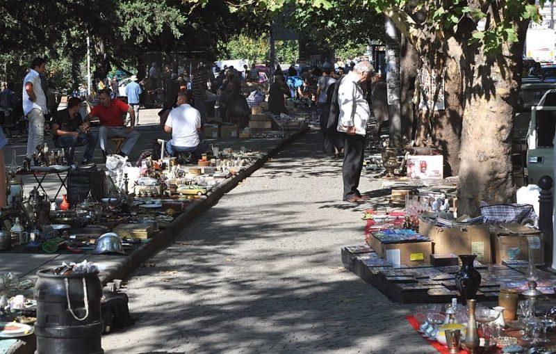 рынок на мосту