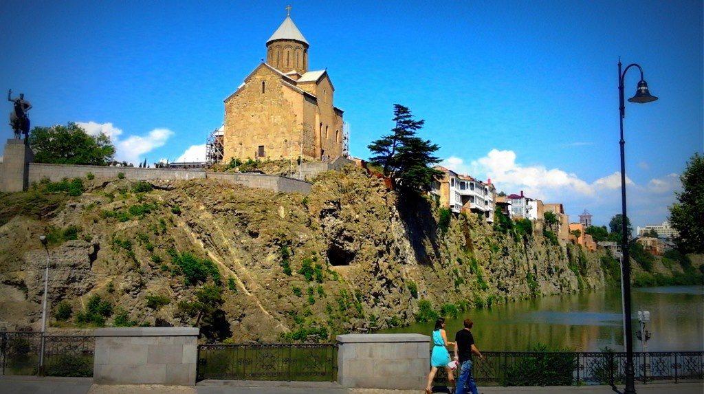 Успенская церковь Метехи Тбилиси5