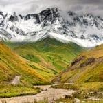 гора в Грузии - Шхара