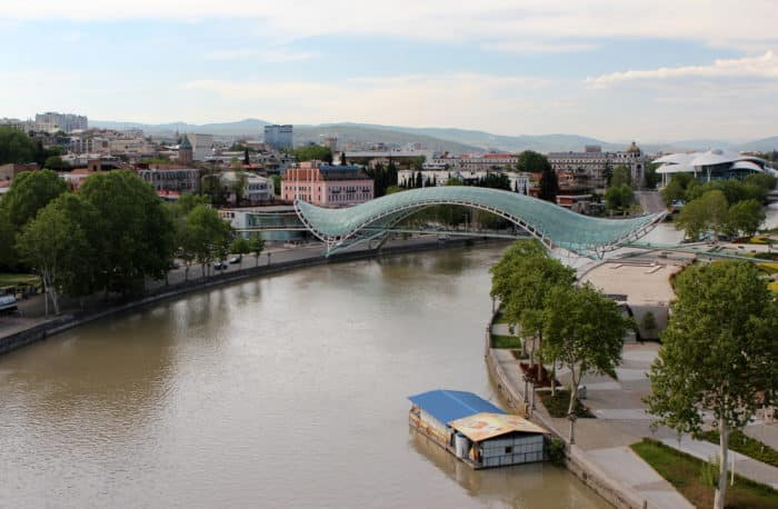 река кура тбилиси