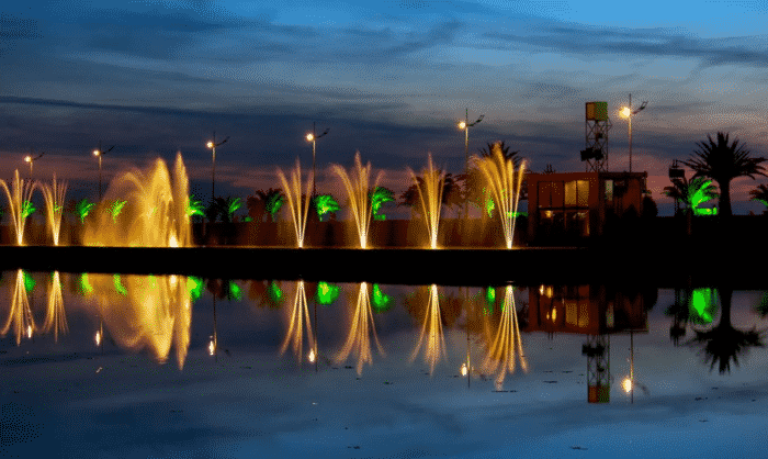 Батуми танцующие фонтаны