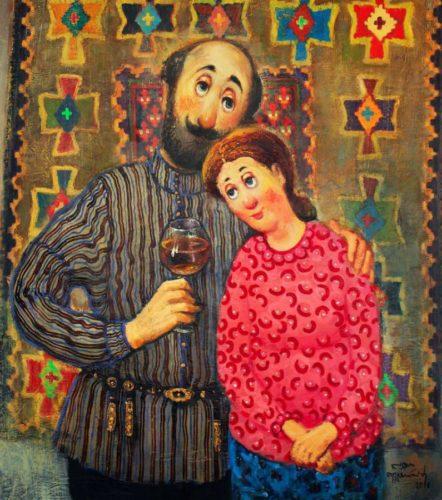 Грузинский художник Ладо Тевдорадзе