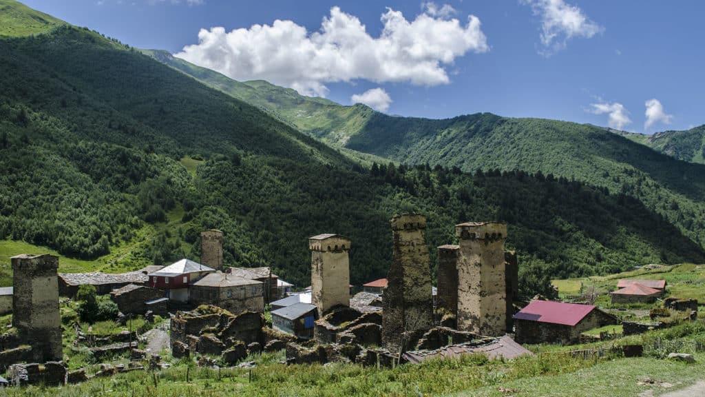 Грузия Ушгули