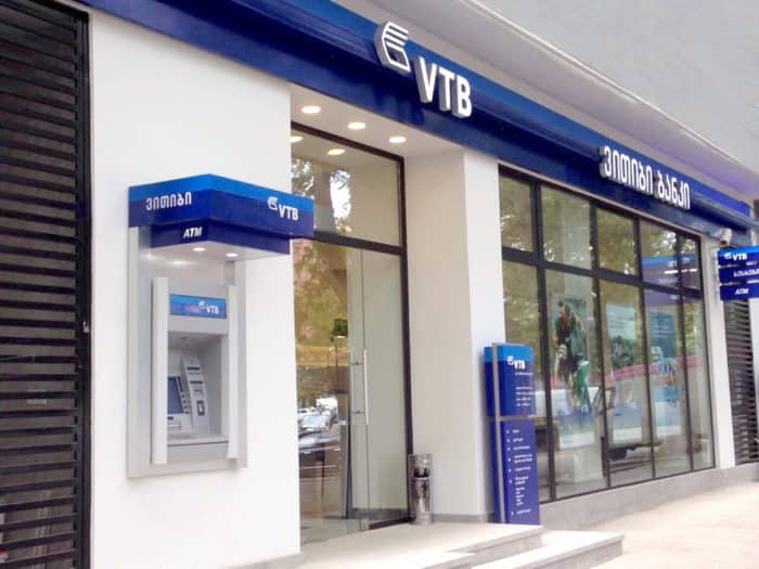Грузия: банк ВТБ