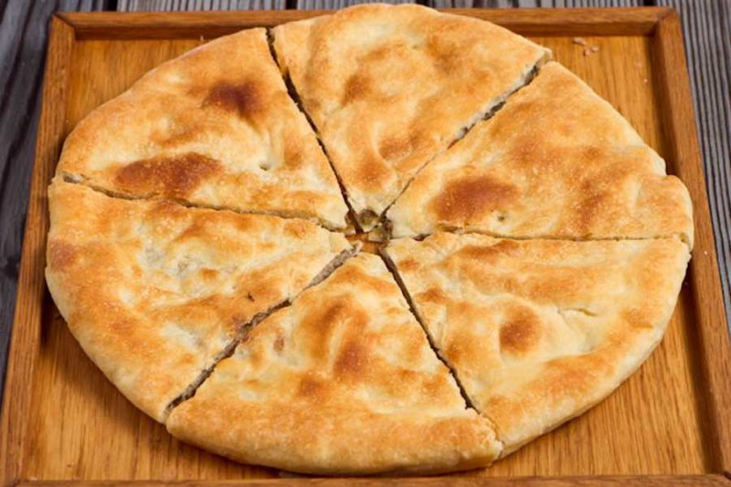 Хачапури с мясом