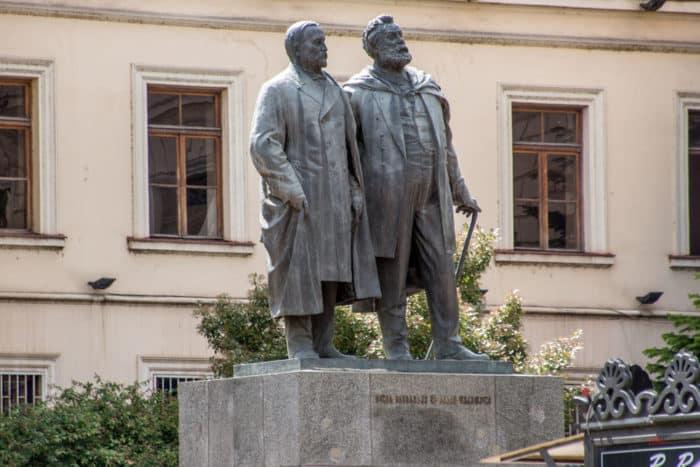 И.Чавчавадзе и А.Церетели
