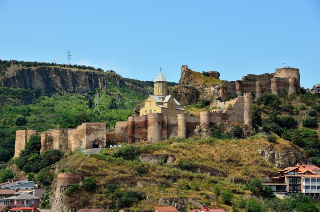 Крепость Нарикала в Грузии