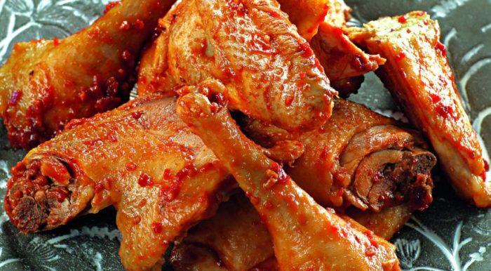 Курица в аджике в духовке-2