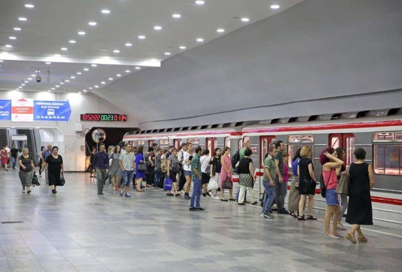 Метро в Тбилиси