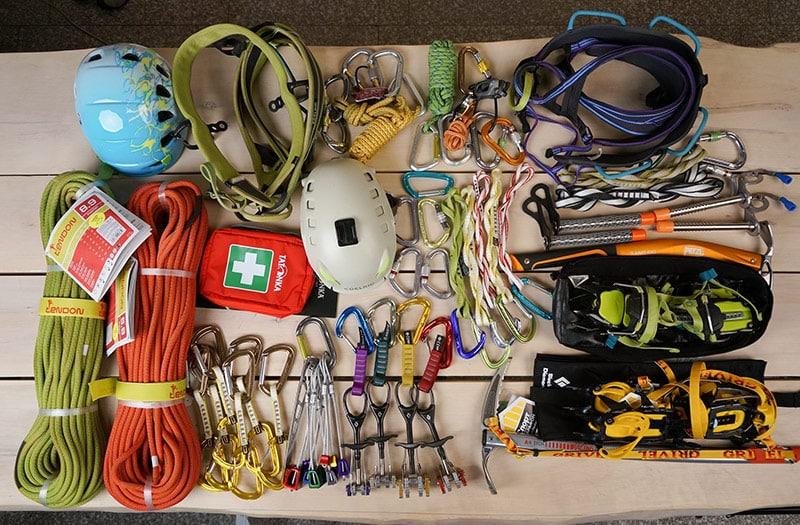 Общее и альпинистское снаряжение