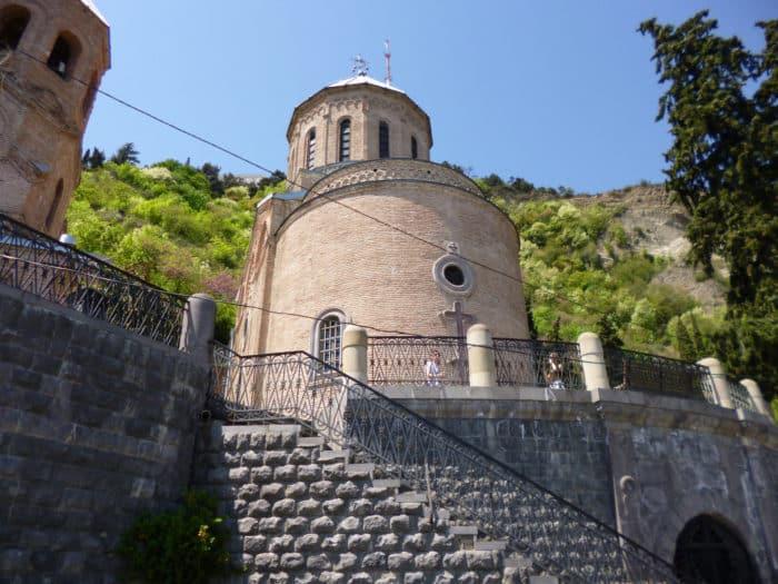 Пантеон на гореМтацминда в Тбилиси-3