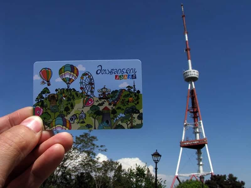 Парк аттракционов в Тбилиси