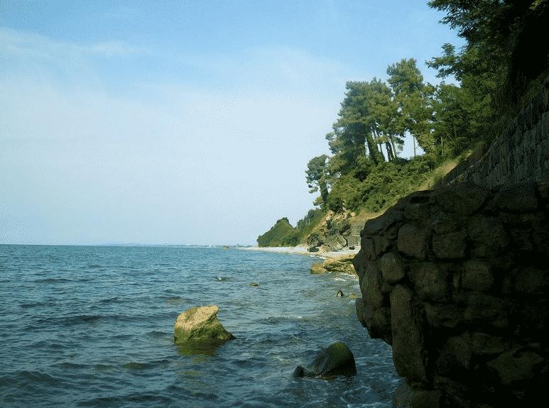 Пляж Цихисдзири