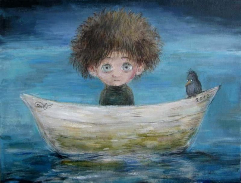 Полотна Нино Чакветадзе лечат