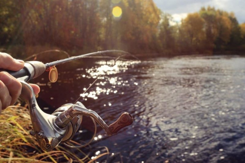 Рыбалка на реке Кура