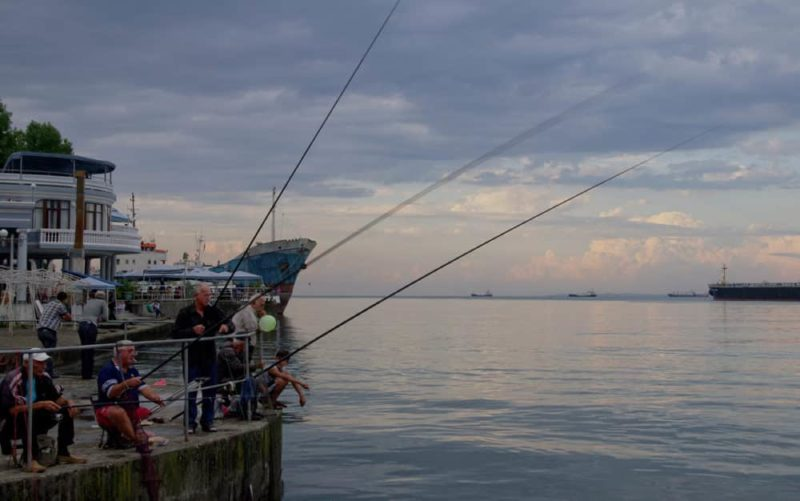 Рыбалка в Батуми