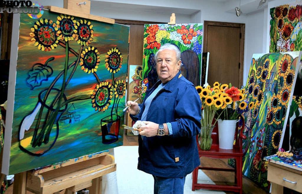 Самобытная живопись Зураба Церетели