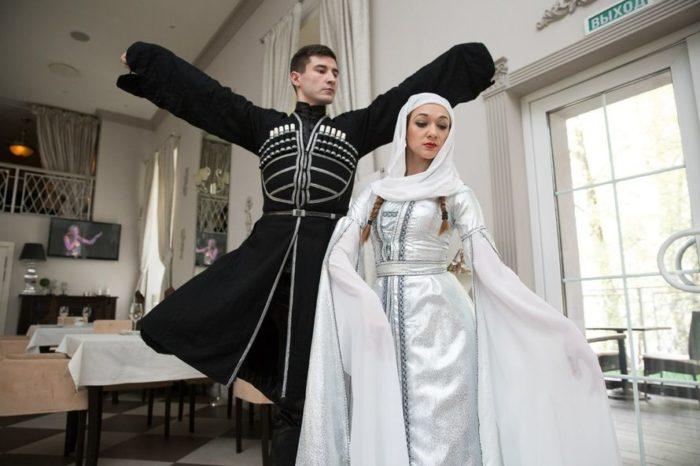 Свадебный наряд парный
