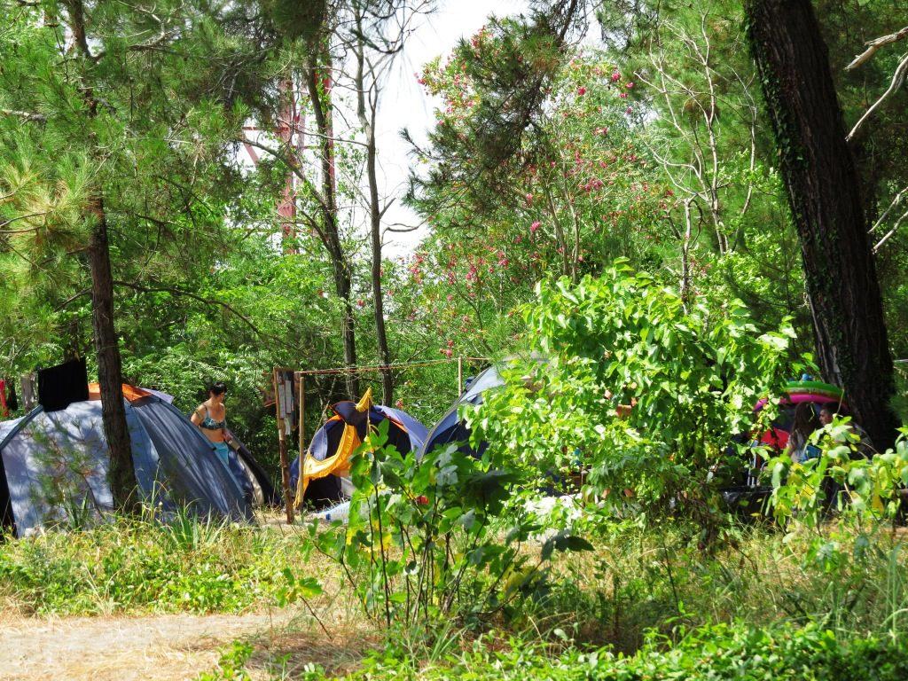 Традиционное пастуший лагерь