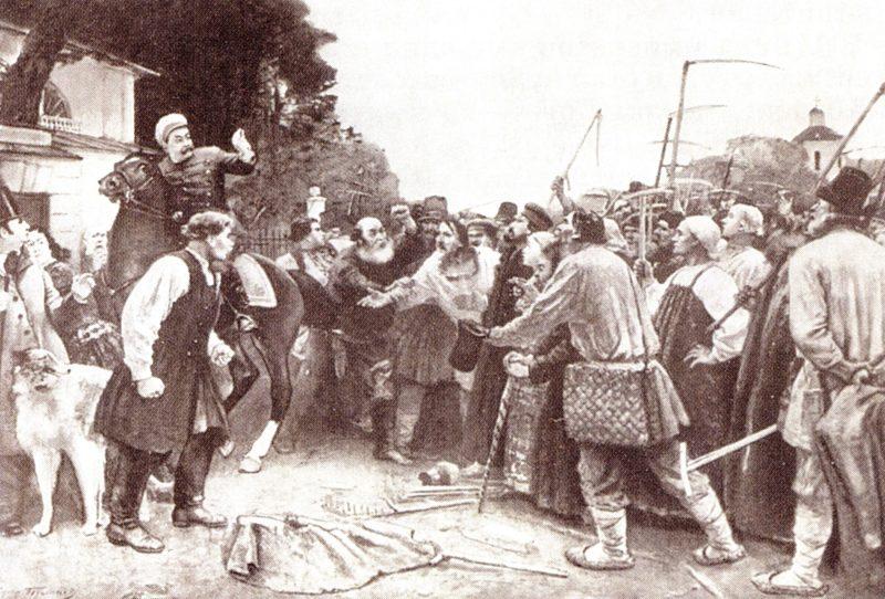 В 1841 году произошло восстание крестьян в Гурии